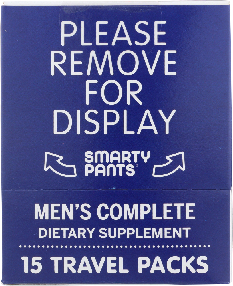 SMARTYPANTS: Mens Complete Multivitamin, 15 pc