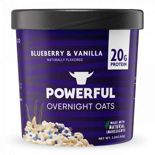 POWERFUL: Oats Overnight Blueberry Vanilla, 2.3 oz