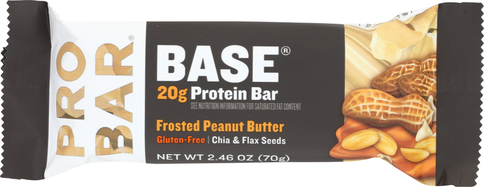 PROBAR: Frosted Peanut Butter Protein Bar, 2.46 oz