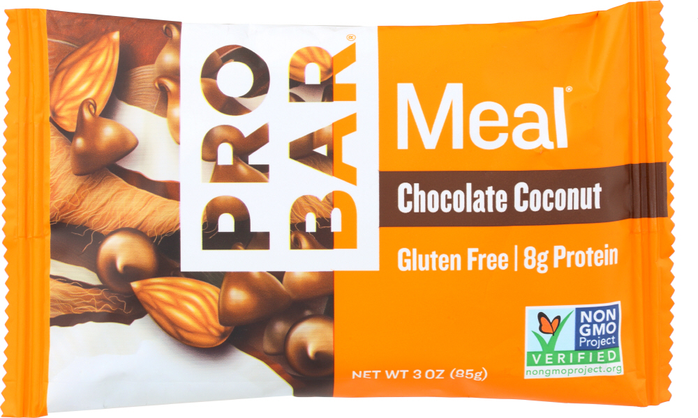 PROBAR: Real Whole Food Chocolate Coconut Meal Bar, 3 oz