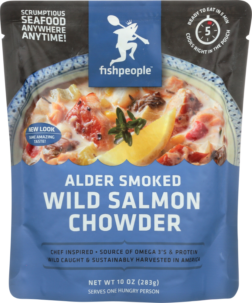 FISHPEOPLE: Smoked Wild Salmon Chowder, 10 oz