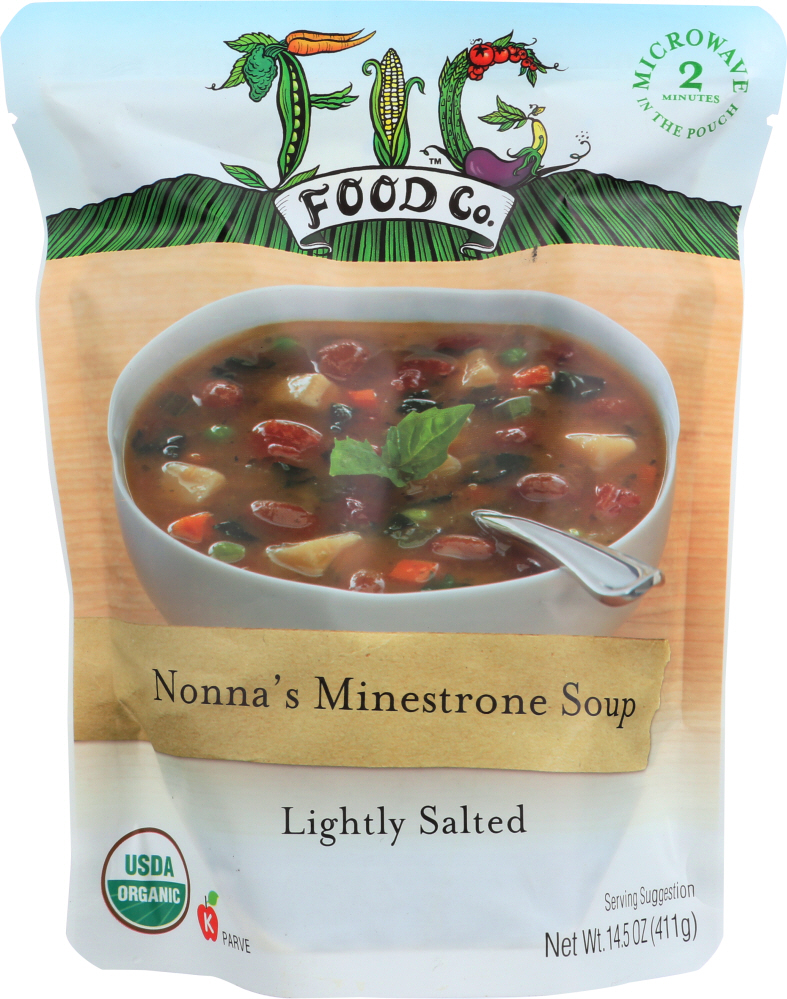 FIG FOOD: Soup Minestrone Nonnas Organic, 14.5 oz