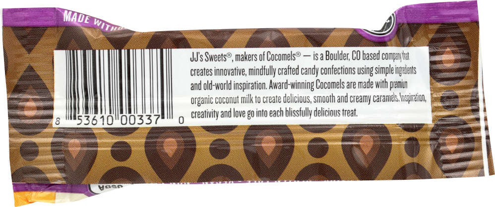 COCOMELS: Vanilla Chocolate Covered Cocomels, 1 oz