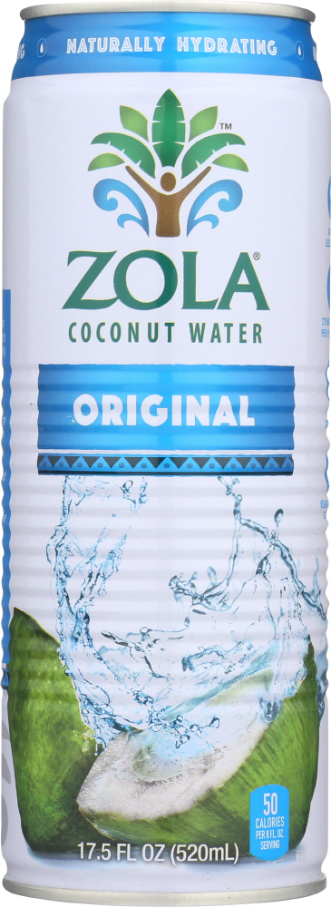 ZOLA: 100% Pure Coconut Water, 17.5 oz