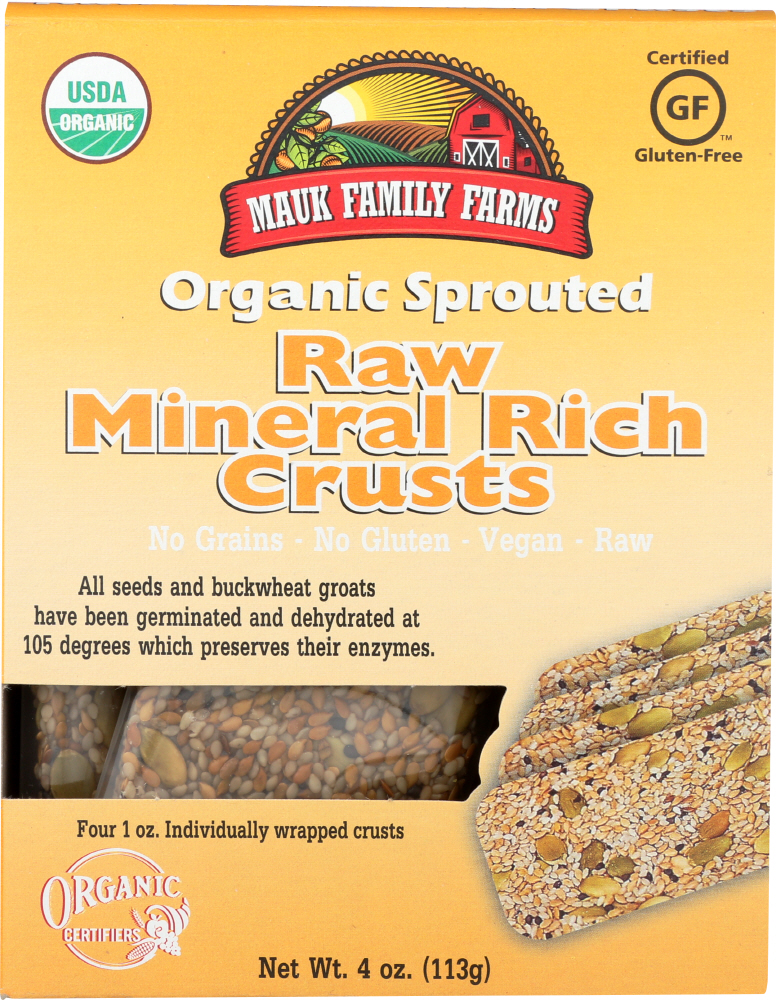 MAUK FAMILY FARMS: Raw Mineral Rich Crusts, 4 oz