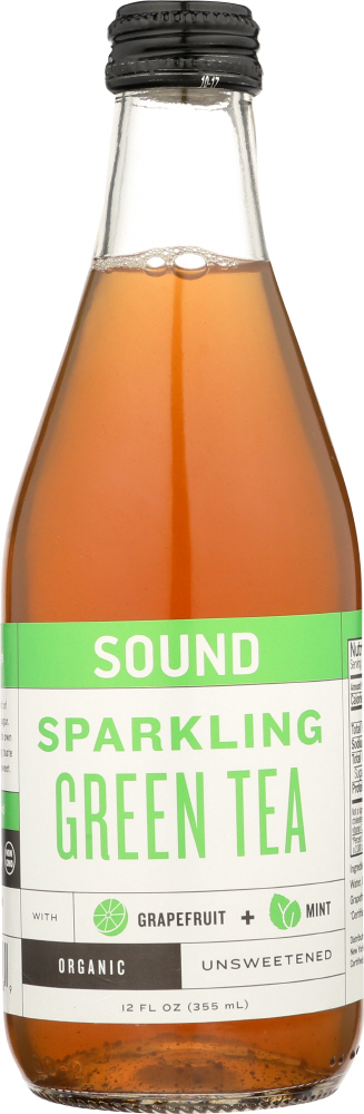 SOUND: Sparkling Tee Green Mint, 12 fo