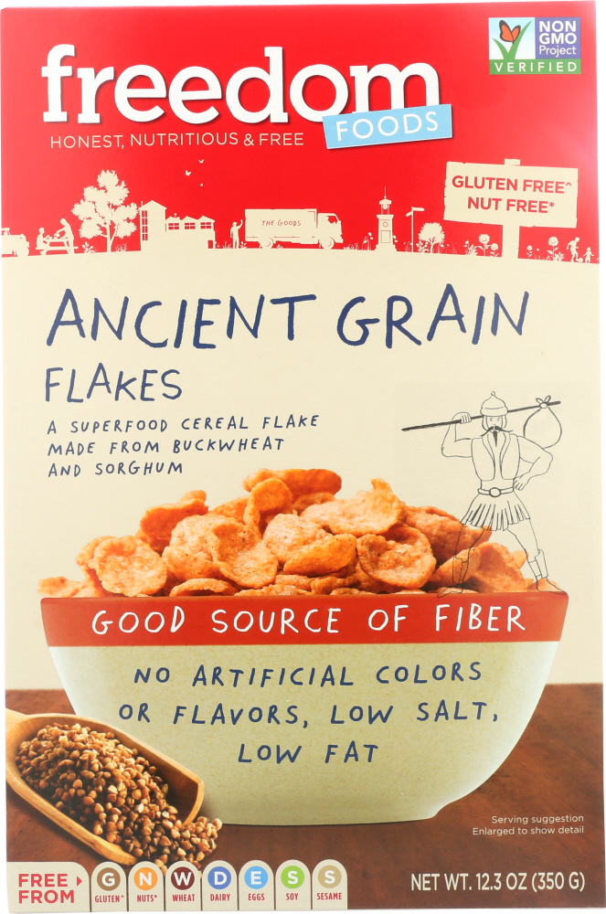 FREEDOM FOODS: Ancient Grain Flakes Cereal, 12.3 oz
