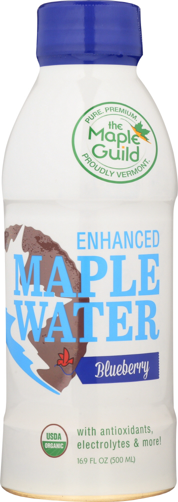 THE MAPLE GUILD: Enhanced Water Maple Blueberry, 16.9 fo
