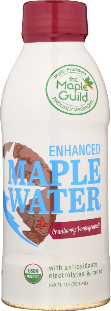 THE MAPLE GUILD: Enhanced Water Maple Cranberry Pomegranate, 16.9 fo