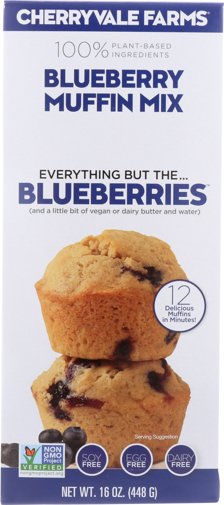 CHERRYVALE FARMS: Blueberry Muffin Mix, 16 oz