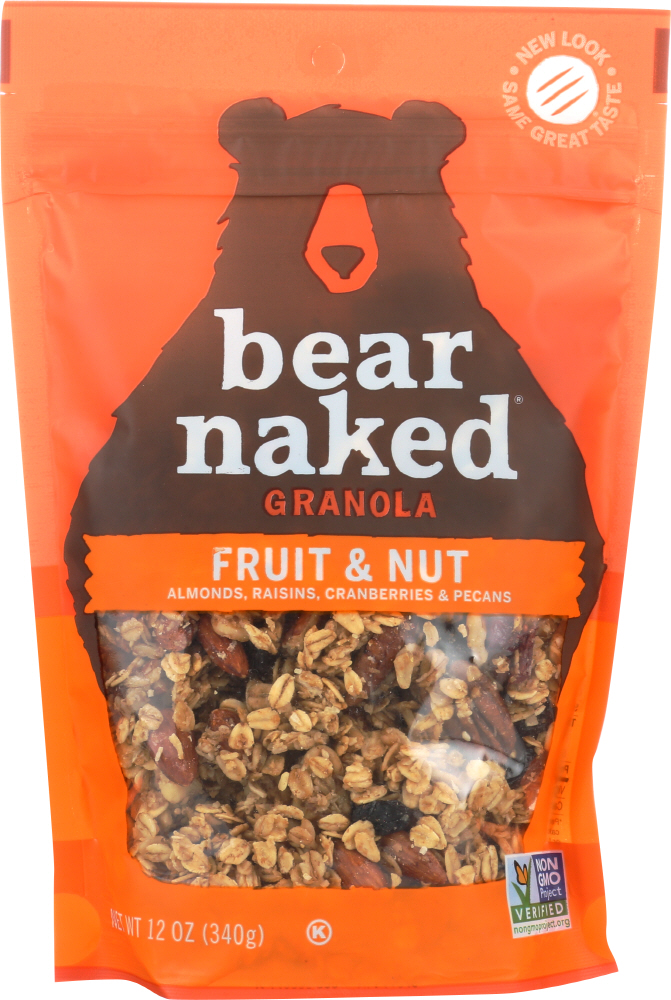 BEAR NAKED: Fruit & Nutty Goodie Bag Granola, 12 oz