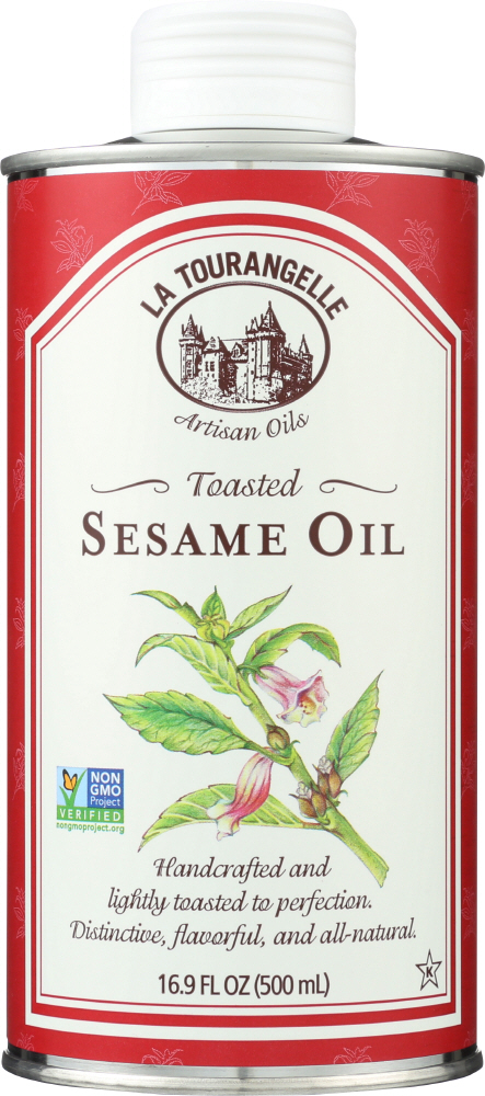 LA TOURANGELLE: Sesame Oil Toasted, 16.9 Oz