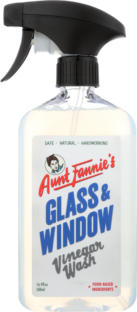 AUNT FANNIES: Glass Vinegar Wash 16.9 oz