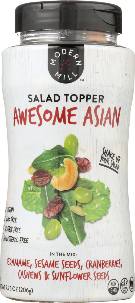 MODERN MILL: Salad Topper Awesome Asian, 7.25 oz