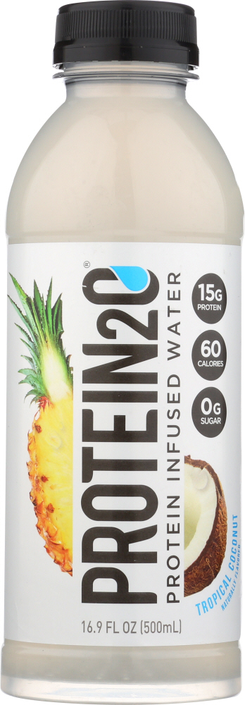 PROTEIN2O: Beverage Tropical Coconut, 16.9 oz