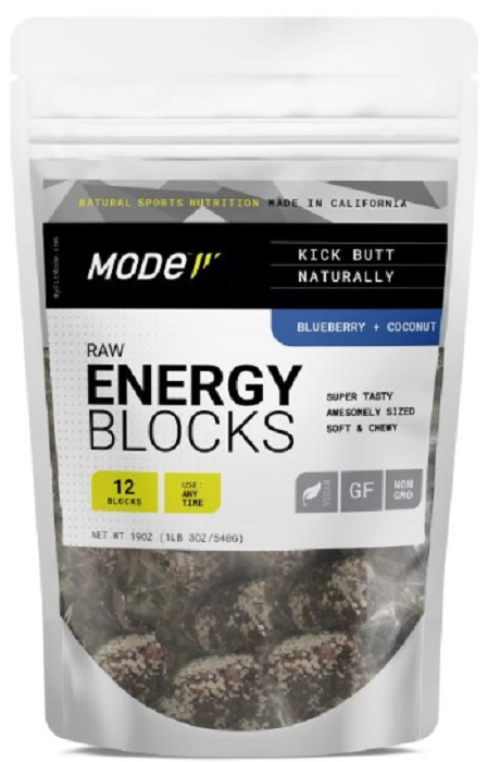 MODE SPORTS NUTRITION: Energy Blueberry Coconut, 540 gm