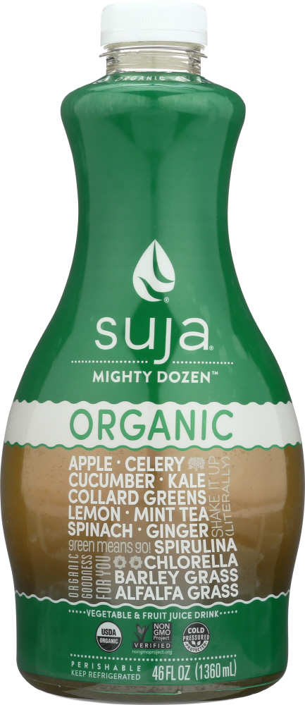 SUJA: Organic Green Juice Mighty Dozen, 46 oz