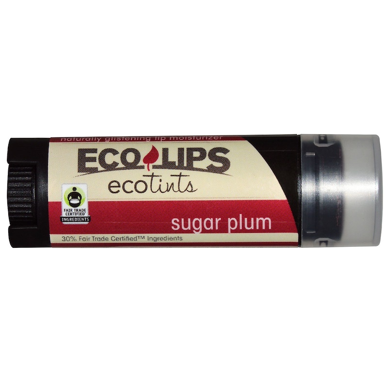 ECO LIPS: Eco Tint Sugar Plum Lip Balm, .3 oz