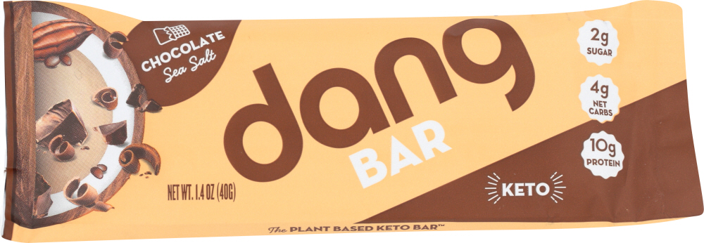 DANG: Bar Chocolate Sea Salt, 1.4 oz