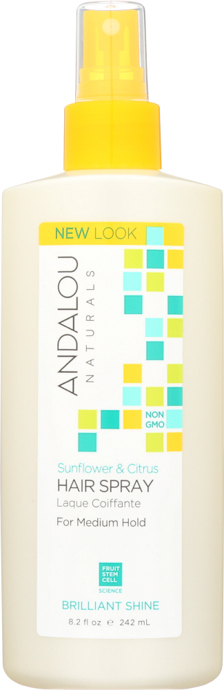 ANDALOU NATURALS: Perfect Hold Hair Spray Sunflower Citrus, 8.2 Oz