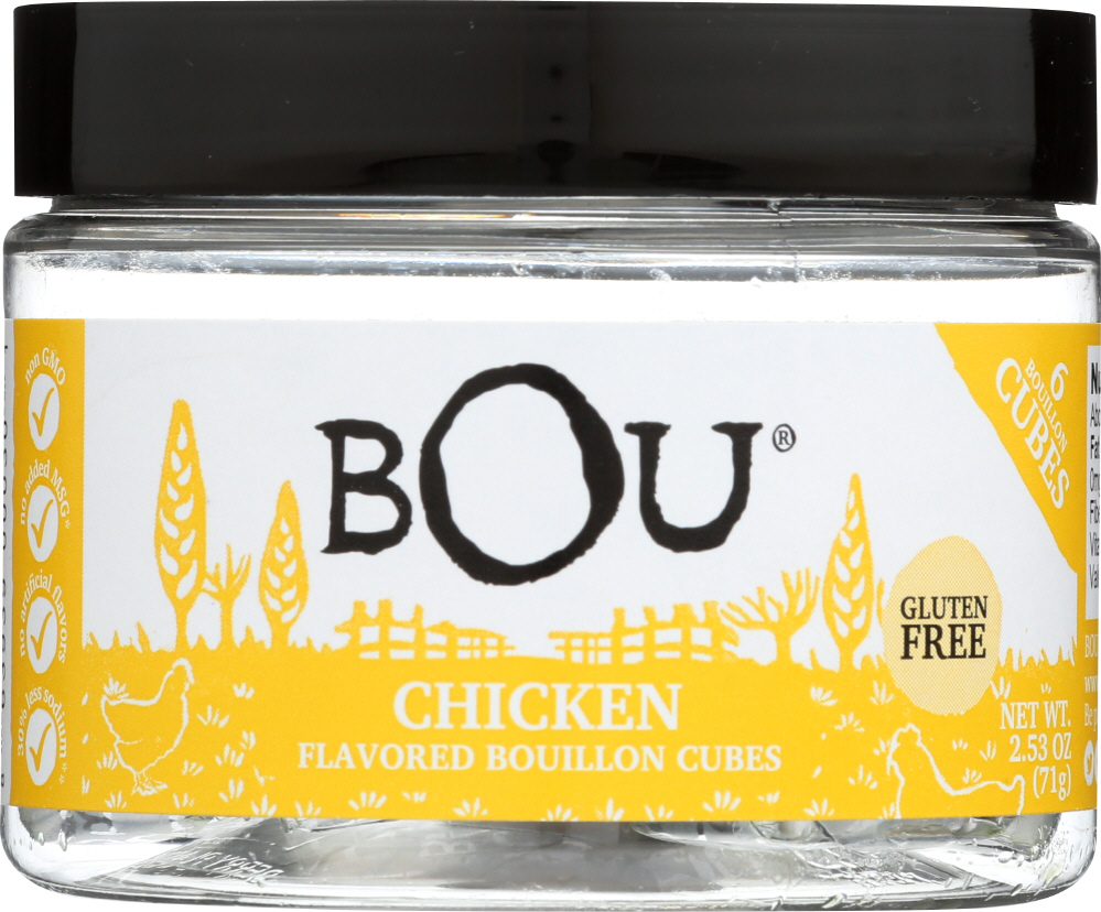 BOU BRANDS: Bouillon Cubes Chicken Flavored, 2.53 oz
