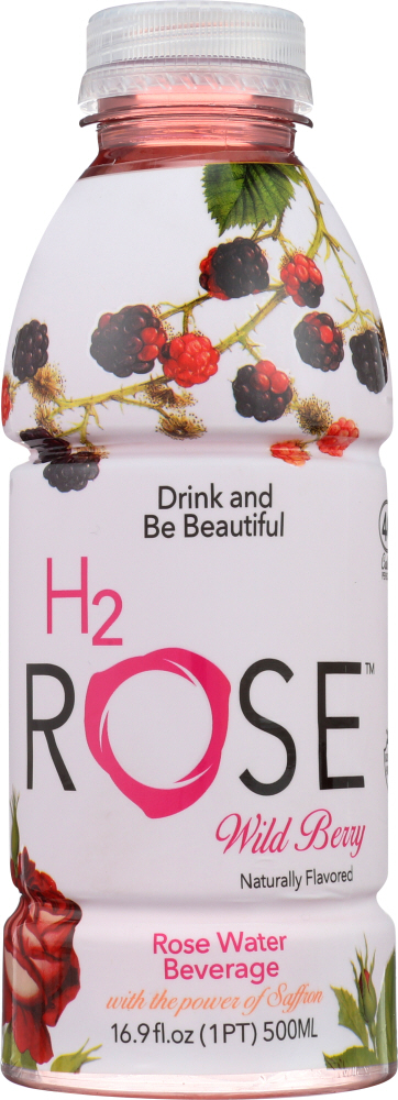 H2ROSE: Wild Berry Rose Water Beverage, 16.9 fl oz