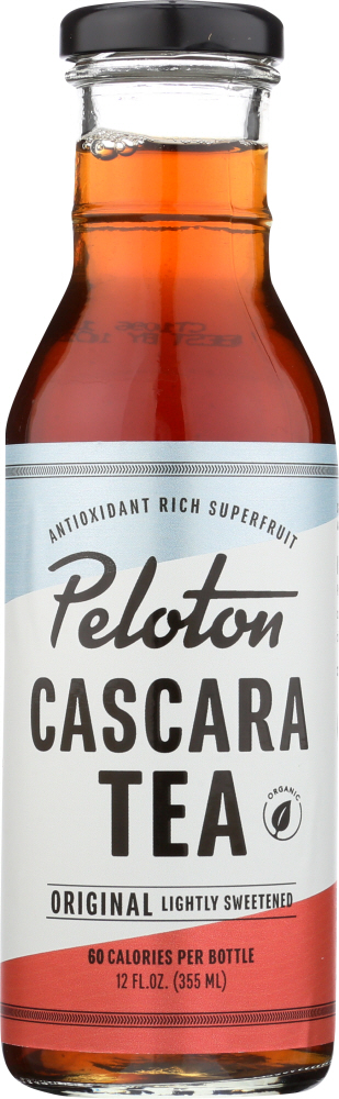PELOTON CASCARA TEA: Tea Original, 12 fo