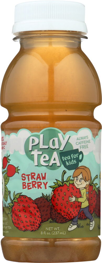 PLAY TEA: Tea Strawberry, 8 fo