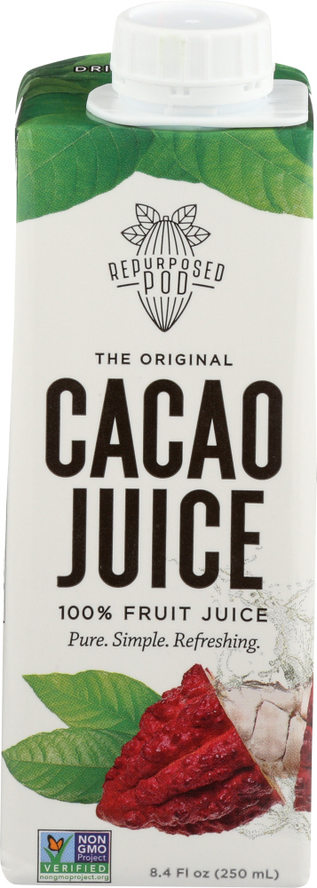 REPURPOSED POD: Cacao Juice 100% Fruit, 8.4 oz