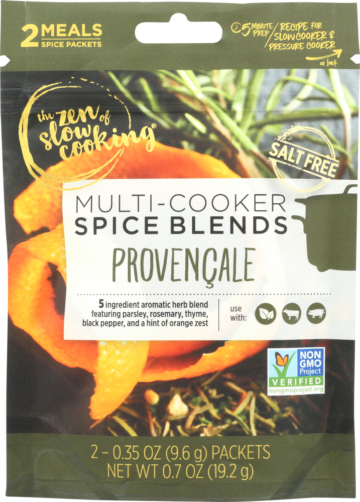 THE ZEN OF SLOW COOKING: Provencale Seasoning, 0.7 oz