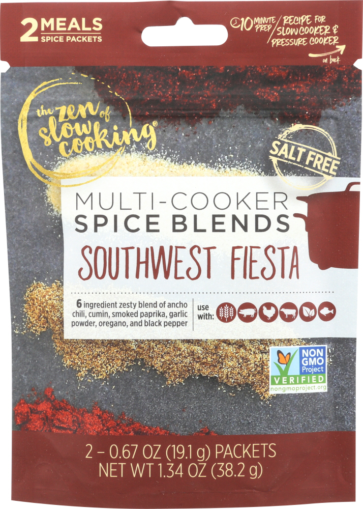 THE ZEN OF SLOW COOKING: Seasoning Southwest Fiesta, 1.3 oz