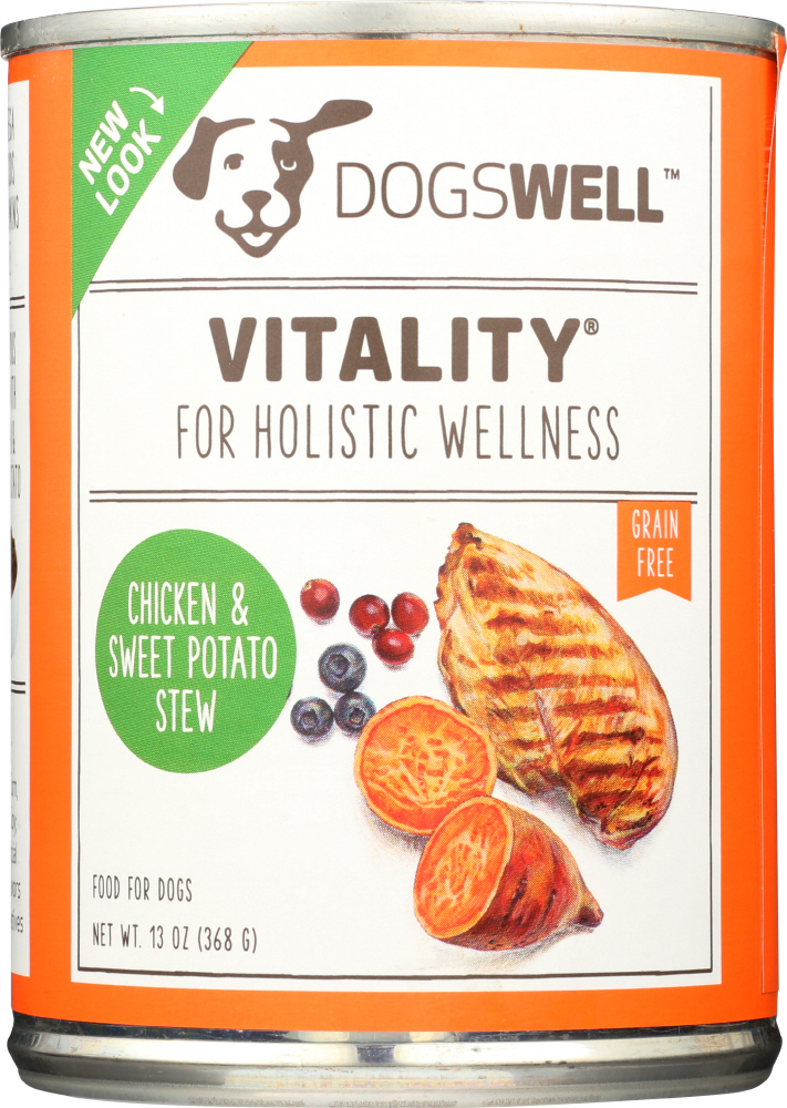 DOGSWELL: Treat Vitality Chicken and Sweet Potato, 13 oz