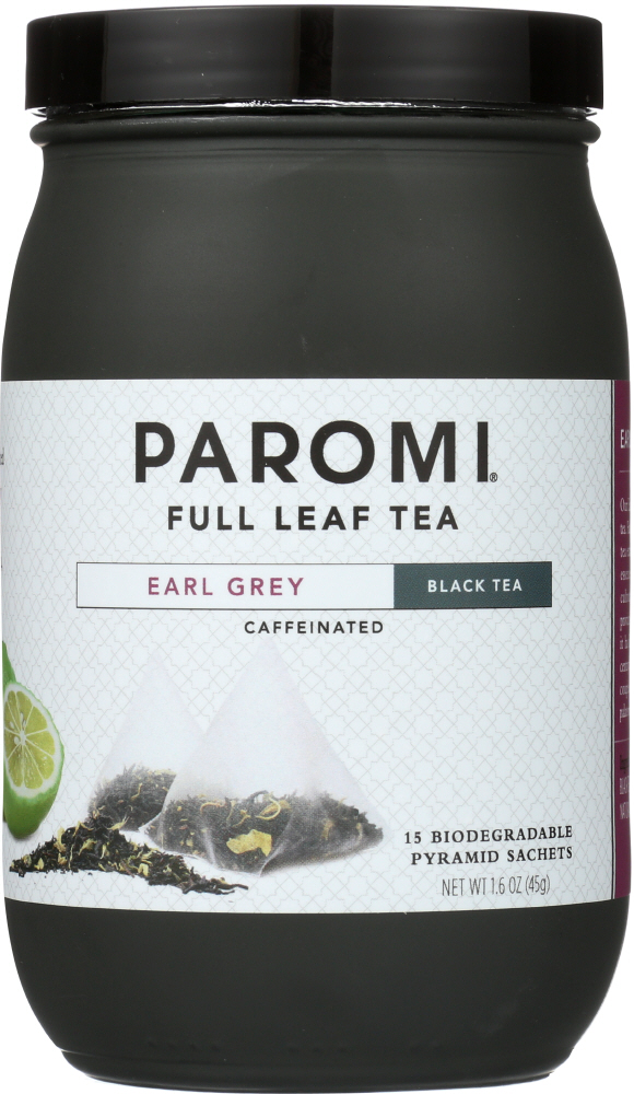 PAROMI TEA: Tea Earl Grey Black, 1.6 oz