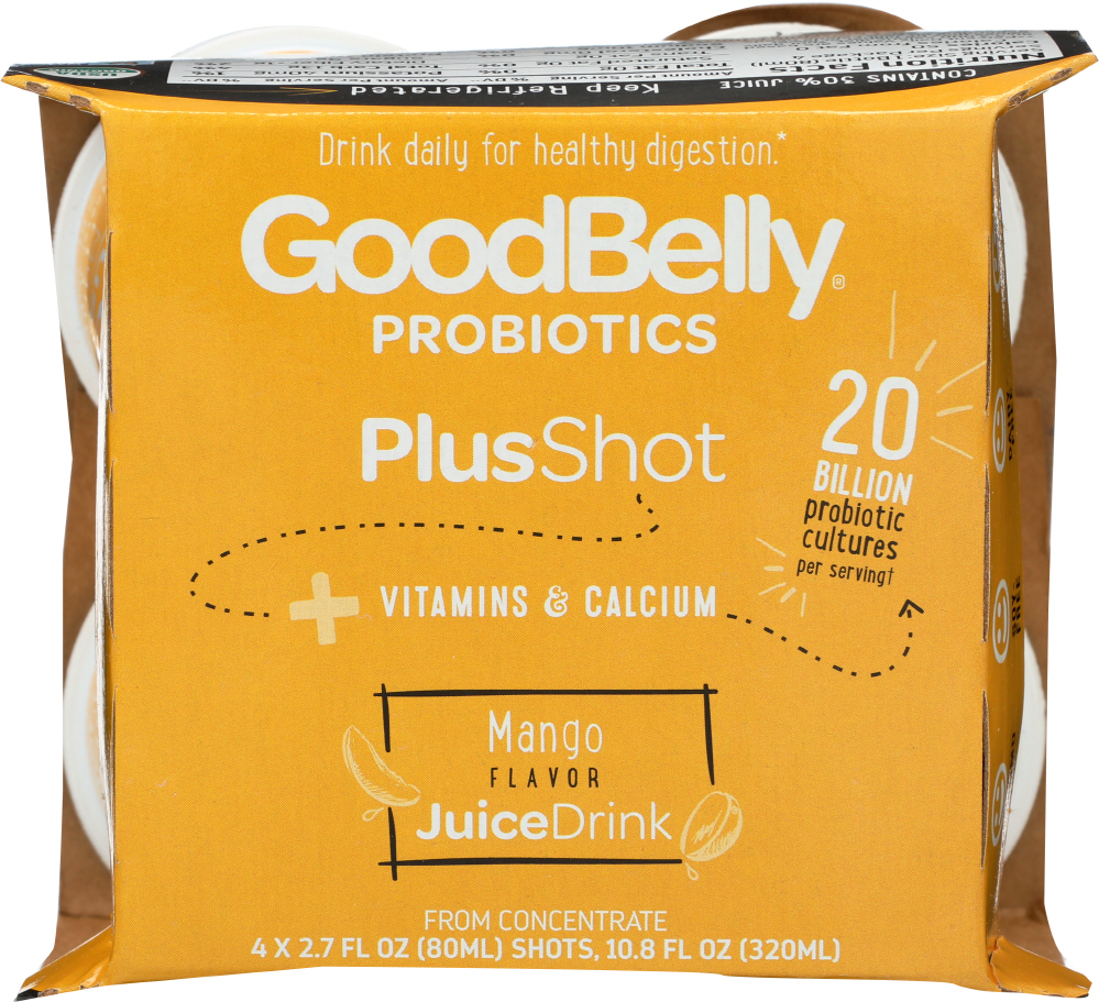 GOOD BELLY: JUICE PEACH MANGO (2.700 OZ)
