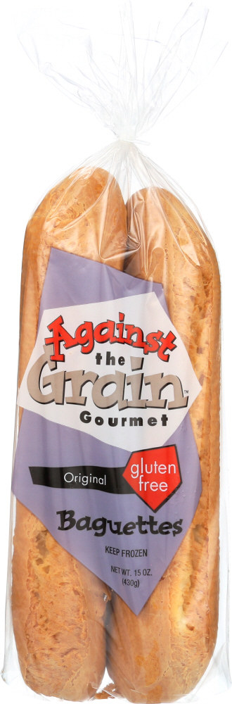 AGAINST THE GRAIN: Gourmet Baguettes Original, 15 oz