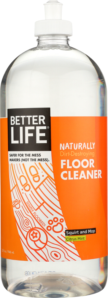 BETTER LIFE: Simply Floored! Natural Floor Cleaner Citrus Mint, 32 oz