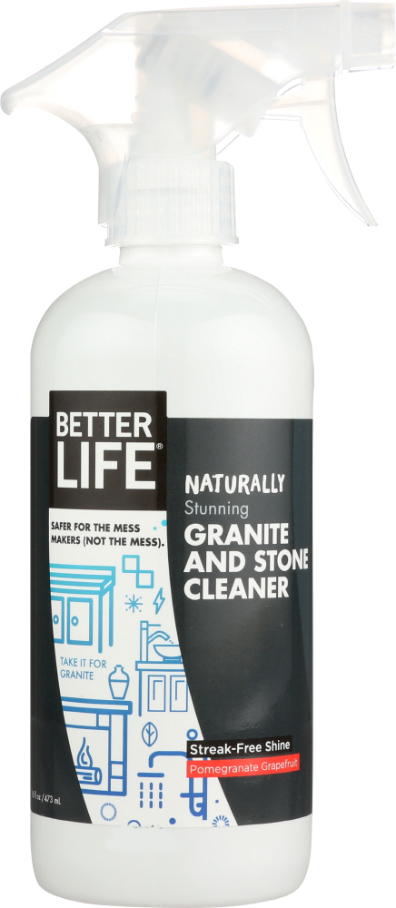 BETTER LIFE: Cleaner Spray Countertop Stone Table, 16 oz