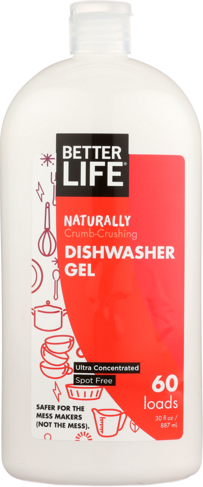 BETTER LIFE: Detergent Dishwasher Auto Magic, 30 oz
