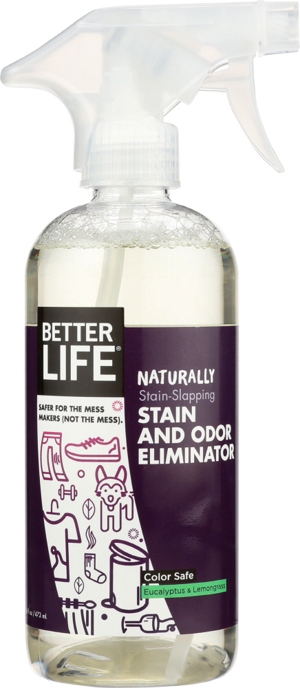 BETTER LIFE: Stain Odor Remover Natural, 16 oz