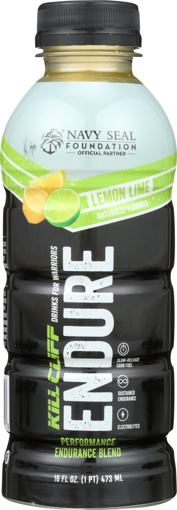 KILL CLIFF: Drink Endure Lemon Lime, 16 fo