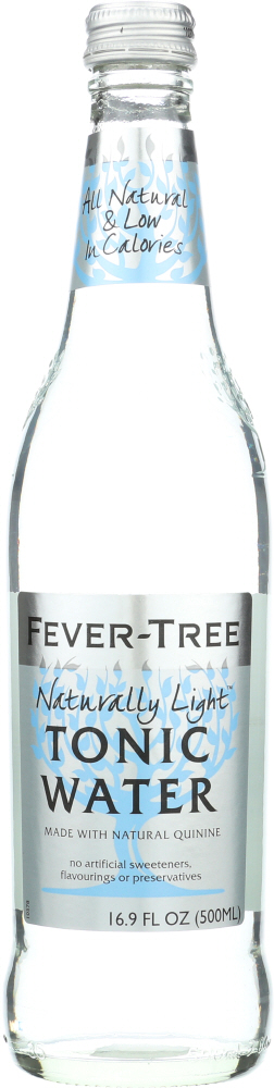 FEVER TREE: Soda Tonic Water Naturally Light, 16.9 fo