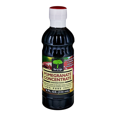 TREE OF LIFE: Juice Concentrate Pomegranate Unsweetened, 8 oz