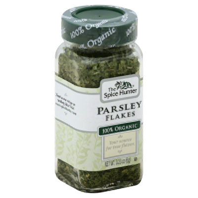 THE SPICE HUNTER: Parsley Flakes Organic, 0.23 oz