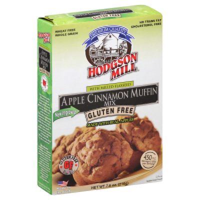 HODGSON MILL: Gluten Free Apple Cinnamon Muffin Mix with Milled Flaxseed, 7.6 oz