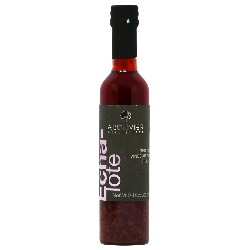 A LOLIVIER: Vinegar Red Wine Shallot, 8.4 fo