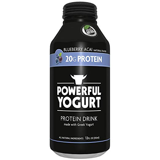 POWERFUL: Powerful Drink Yogurt Blueberry Acai, 12 oz