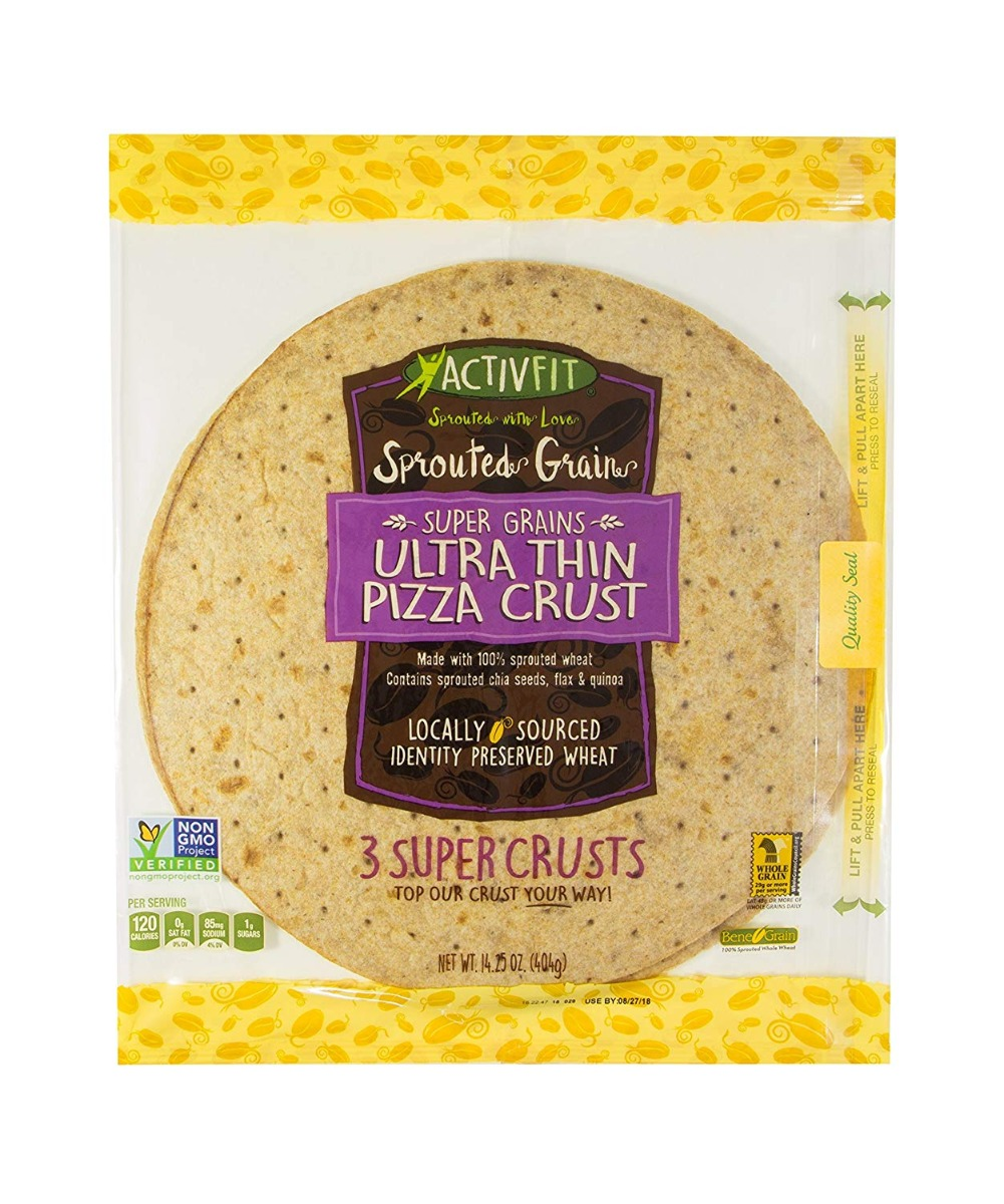 ACTIVFIT: Ultra Thin Pizza Crust Sprouted Grain, 14.25 oz