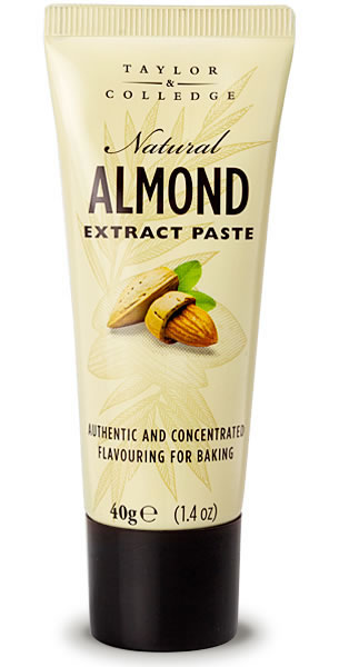 TAYLOR & COLLEDGE: Natural Almond Extract Paste, 1.4 oz