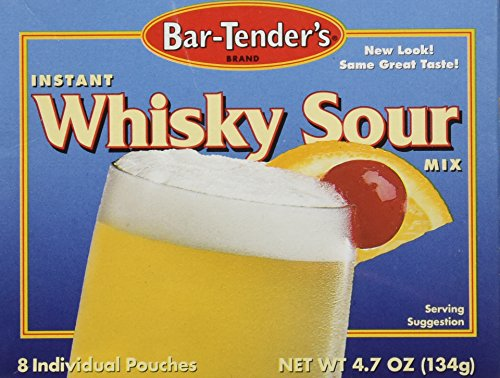 BAR TENDERS: Mix Whiskey Sour 8 pack, 4.7 oz