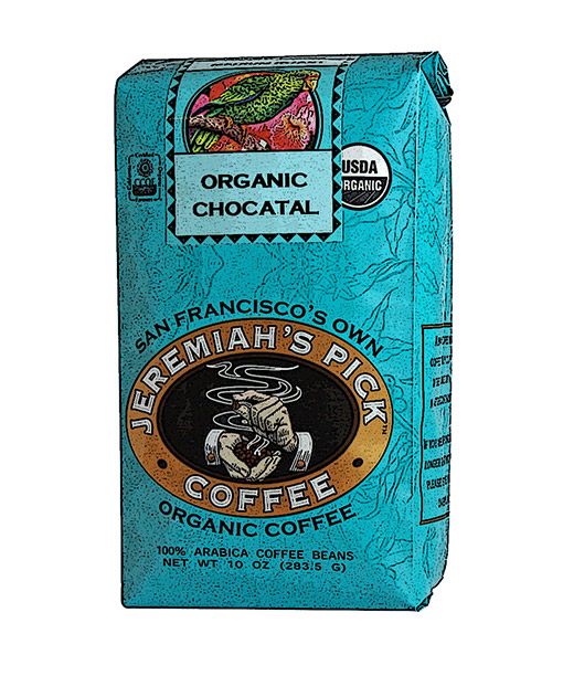 JEREMIAHS PICK COFFEE: Coffee Ground Chocatal Organic, 10 oz